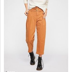 Free people Flow Away Cropped pants